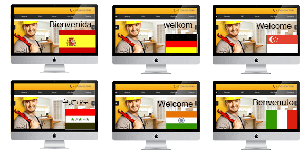 geo-fencing website