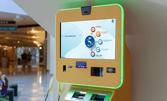 Self-Help Interactive Kiosks