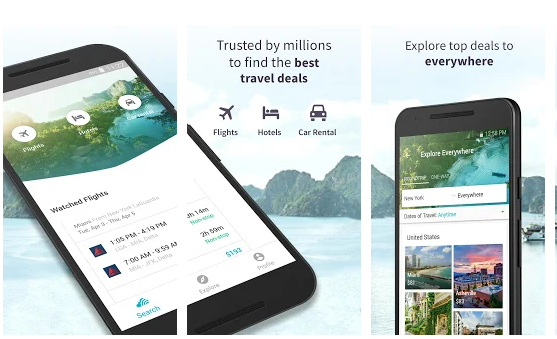 Skyscanner Cheap Flights Hotels and Car Rental Apps on Google Play