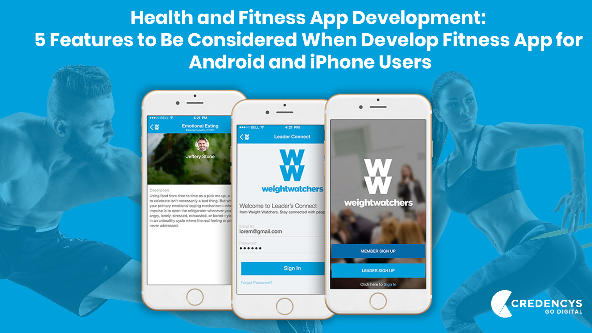 Health and Fitness App Development: 5 Features to Be Considered