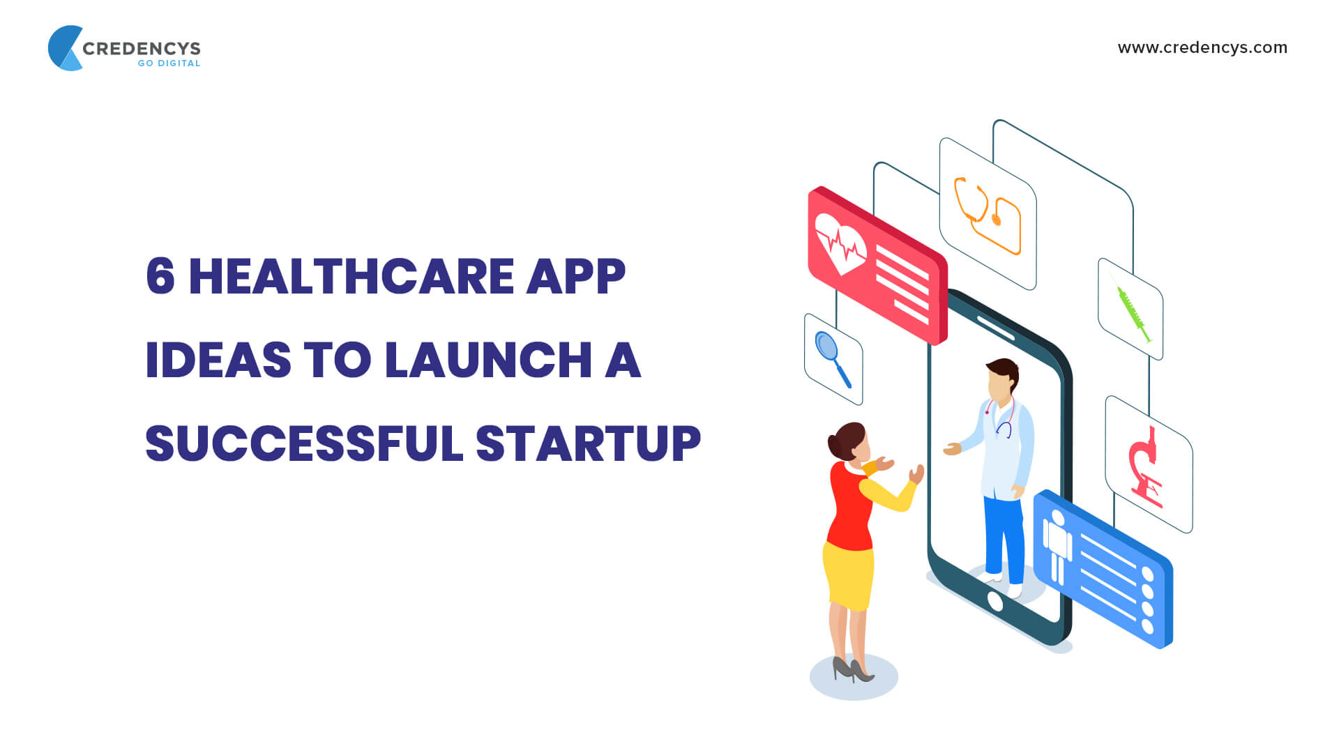 6 Healthcare App Ideas to Launch a Successful Startup (2019)