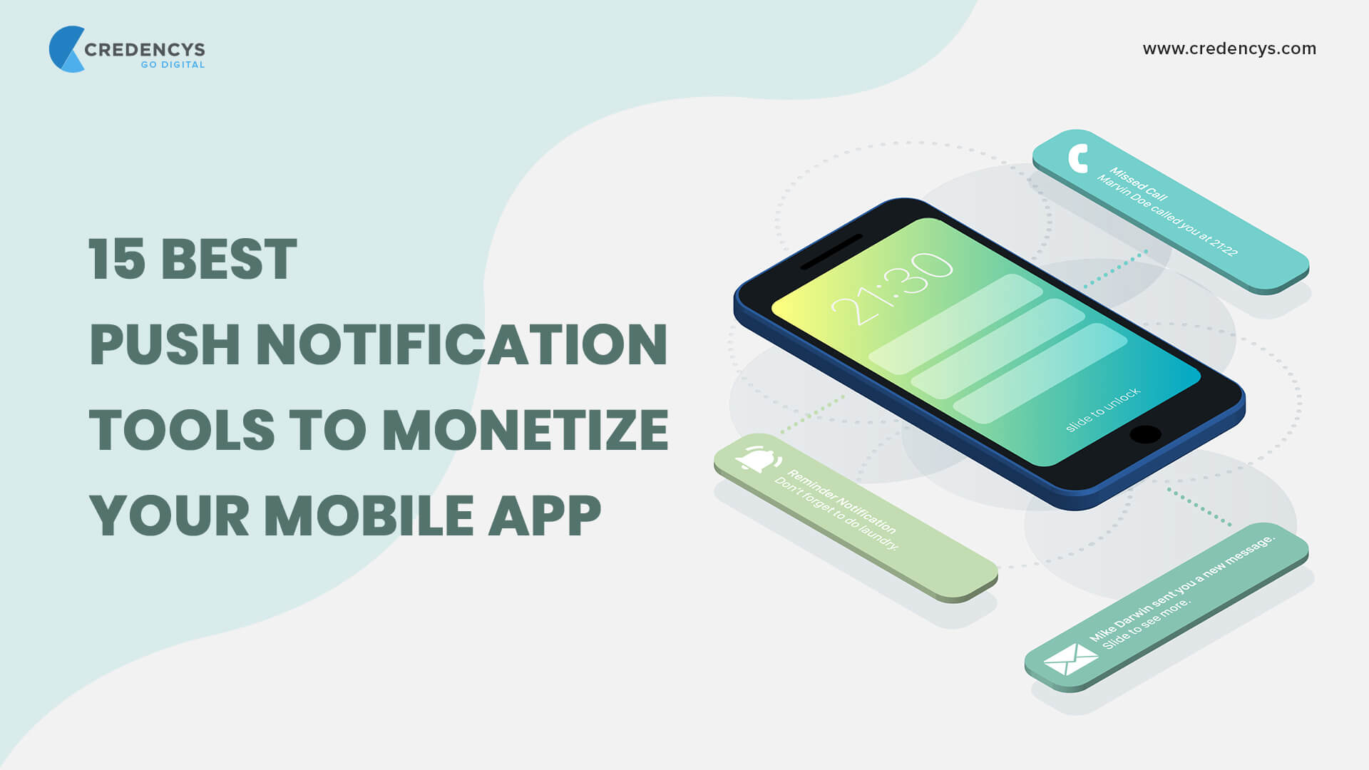 15 Best Push Notification Tools to Monetize your Mobile App