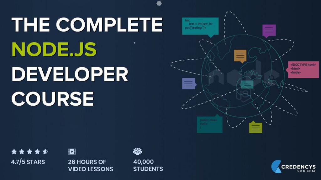 The Complete Node js Developer Course