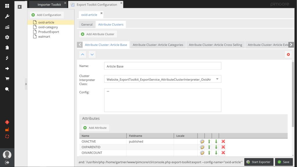 Pimcore PIM Data Import & Export Toolkit